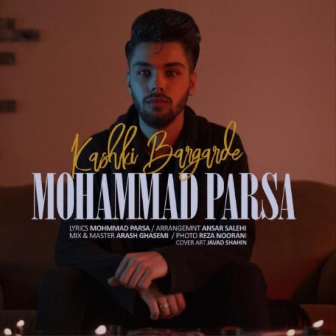 دانلود موزیک جدید محمد پارسا کاشکی برگرده