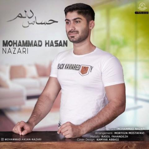 دانلود موزیک جدید محمد حسن نظری حساس دلم