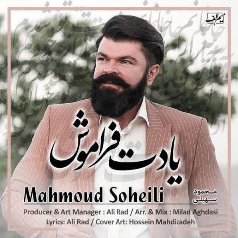 دانلود موزیک جدید محمود سهیلی یادت فراموش