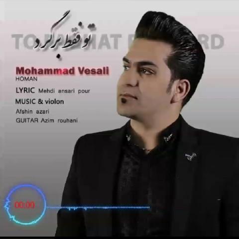 دانلود موزیک جدید محمد وصالی تو فقط برگرد