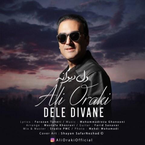 دانلود موزیک جدید علی اورکی دل دیوانه