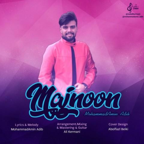 دانلود موزیک جدید محمد امین ادیب مجنون
